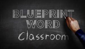 Blueprint Word: Classroom cover