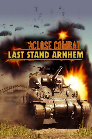 Close Combat: Last Stand Arnhem cover