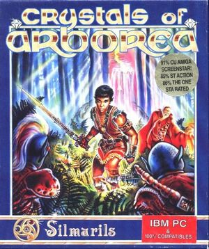 Crystals of Arborea cover