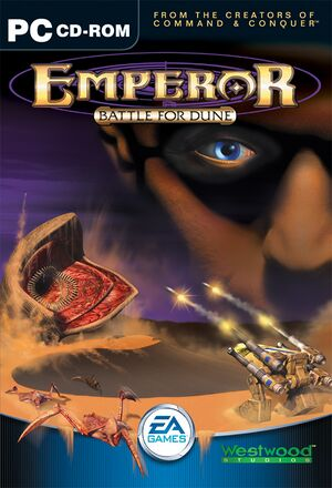 Emperor: Battle for Dune cover