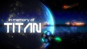 In Memory of Titan cover