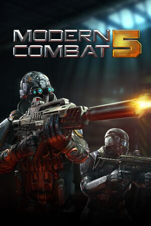 Modern Combat 5 cover