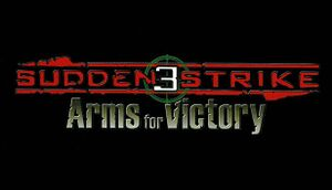 Sudden Strike 3: Arms for Victory cover