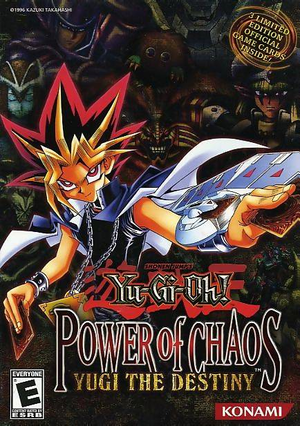 Yu-Gi-Oh! Power of Chaos: Yugi the Destiny cover