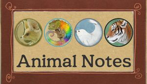 Animal Notes cover