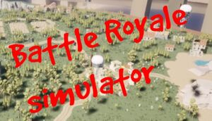 Battle royale simulator cover