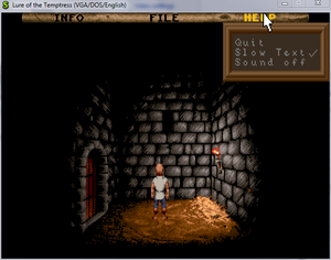In-game menu.