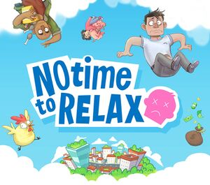 No Time to Relax cover