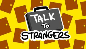 Talk to Strangers cover