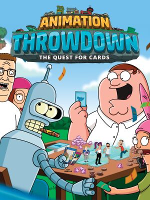 Animation Throwdown: The Quest for Cards cover