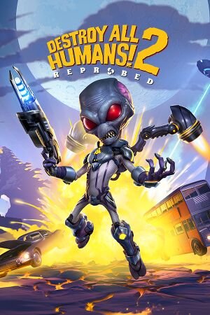 Destroy All Humans! 2 - Reprobed cover