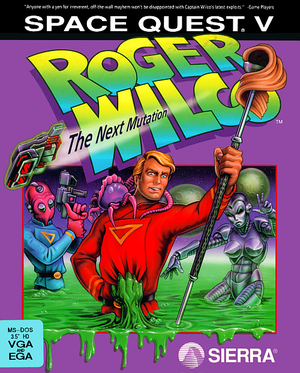 Space Quest V: Roger Wilco - The Next Mutation cover