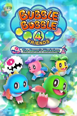 Bubble Bobble 4 Friends: The Baron is Back! cover