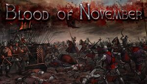 Eisenwald: Blood of November cover