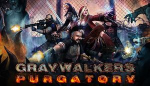 Graywalkers: Purgatory cover