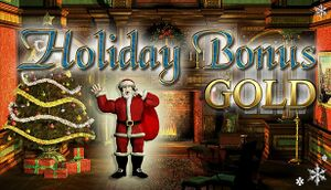 Holiday Bonus GOLD cover