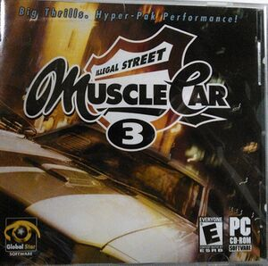 Muscle Car 3: Illegal Street cover