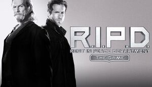 R.I.P.D.: The Game cover