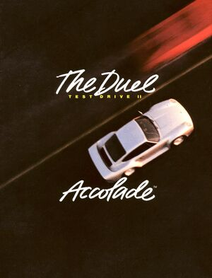 The Duel: Test Drive II cover