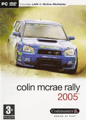 Colin McRae Rally 2005 cover