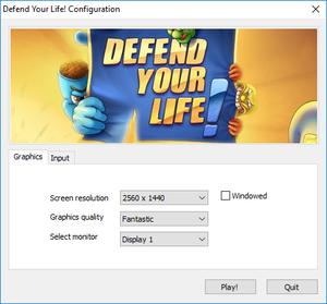 Video settings (Steam version).