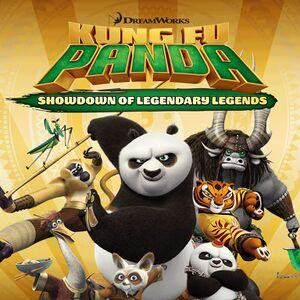 Kung Fu Panda: Showdown of Legendary Legends cover