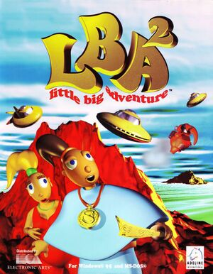 Little Big Adventure 2 cover