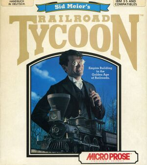 Sid Meier's Railroad Tycoon cover