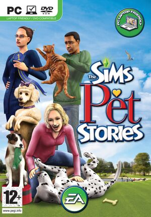 The Sims Pet Stories cover