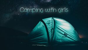Camping with girls cover