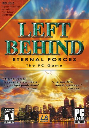 Left Behind: Eternal Forces cover