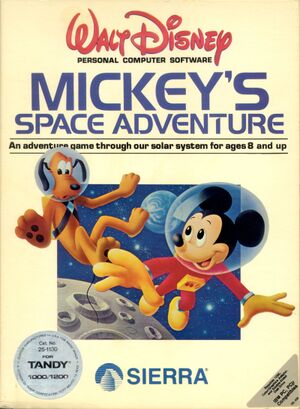 Mickey's Space Adventure cover