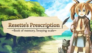 Resette's Prescription: Book of Memory, Swaying Scale cover