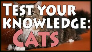 Test your knowledge: Cats cover