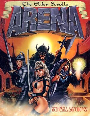The Elder Scrolls: Arena cover