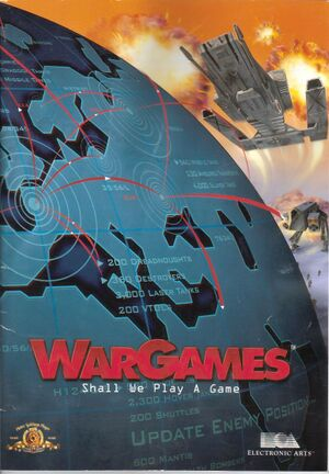 WarGames cover