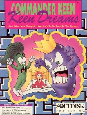 Commander Keen in Keen Dreams cover