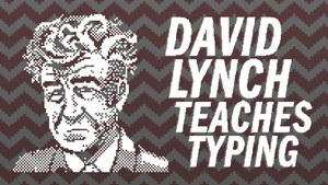 David Lynch Teaches Typing cover