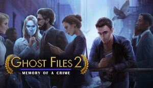 Ghost Files 2: Memory of a Crime cover
