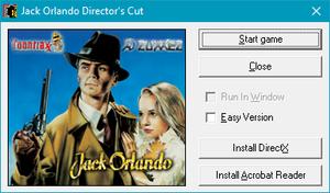Director's cut launcher settings.