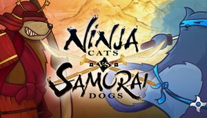 Ninja Cats vs Samurai Dogs cover