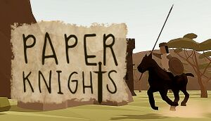 Paper Knights cover