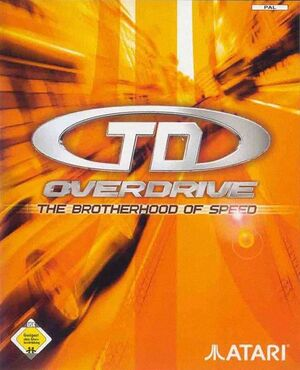 TD Overdrive: The Brotherhood of Speed cover