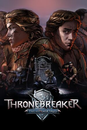 Thronebreaker: The Witcher Tales cover