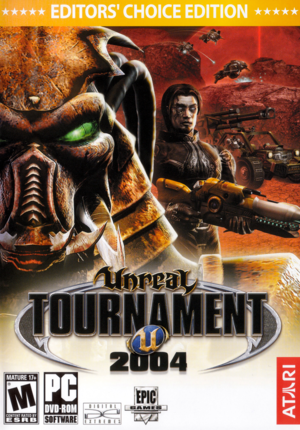 Unreal Tournament 2004 cover