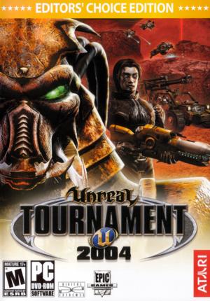 Unreal Tournament 2004 cover