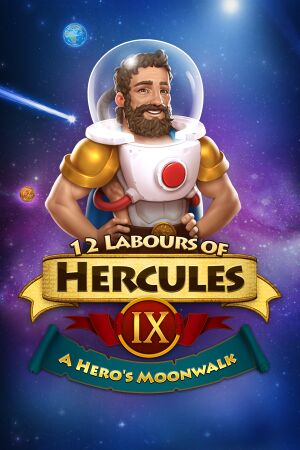 12 Labours of Hercules IX: A Hero's Moonwalk cover