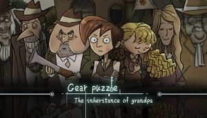 Gear Puzzle: the inheritance of grandpa(齿轮迷局) cover