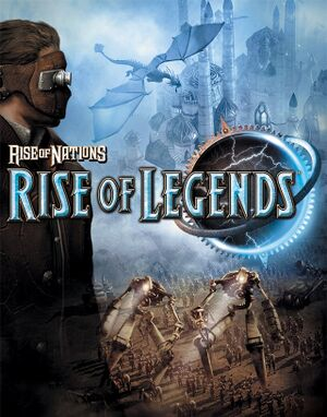 Rise of Nations: Rise of Legends cover