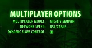 Multiplayer settings.